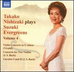 Takako Nishizaki Plays Suzuki Evergreens, Vol. 4