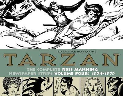 Tarzan: The Complete Russ Manning Newspaper Strips Volume 4 (1974-1979) - Manning, Russ