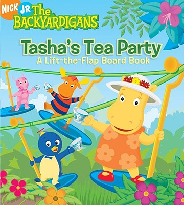 Tasha's Tea Party: A Lift-The-Flap Board Book - Parent, Nancy (Adapted by)