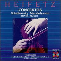 Tchaikovsky & Mendelssohn: Concertos - Jascha Heifetz (violin)