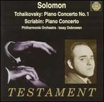 Tchaikovsky: Piano Concerto No. 1; Scriabin: Piano Concerto, Op. 20