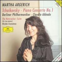 Tchaikovsky: Piano Concerto No. 1; The Nutcracker Suite - Martha Argerich (piano); Nicolas Economou (piano); Berlin Philharmonic Orchestra; Claudio Abbado (conductor)
