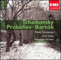 Tchaikovsky, Prokofiev, Bartók: Piano Concertos - Emil Gilels (piano); Sviatoslav Richter (piano); Lorin Maazel (conductor)