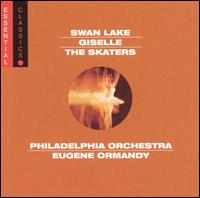 Tchaikovsky: Swan Lake; Adam: Giselle; Meyerbeer: The Skaters - Philadelphia Orchestra; Eugene Ormandy (conductor)