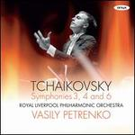 Tchaikovsky: Symphonies 3, 4 and 6