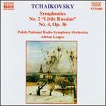 "Tchaikovsky: Symphonies No. 2 ""Little Russian"", No. 4"
