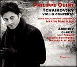 Tchaikovsky: Violin Concerto; Arensky: Quartet
