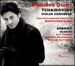 Tchaikovsky: Violin Concerto; Arensky: Quartet - Claudio Bohórquez (cello); Lily Francis (viola); Nicolas Altstaedt (cello); Sofia Philharmonic Orchestra;...
