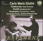 Tchaikovsky: Violin Concerto; Dvorák: Symphony No. 7; Mussorgsky: Khovanshchina Prelude