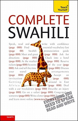 Teach Yourself Complete Swahili: From Beginner to Intermediate - Russell, Joan