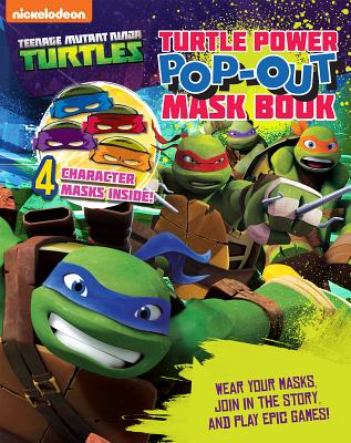 Teenage Mutant Ninja Turtles: Pop-Out Mask Book - Parragon