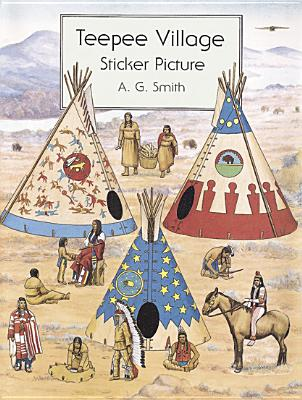 Teepee Village Sticker Picture - Smith, A G