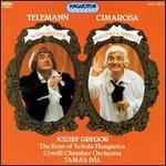 Telemann: Der Schulmeiseter; Cimaros Il Maestro di Cappella