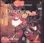 Telemann: Overtures, Sonatas & Concertos, Vol. 2