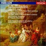 Telemann: Suite in B/Concerto in G/6 Canonic Sonatas - European Baroque Soloists; HansJörg Schellenberger (oboe); Klaus Stoll (violone); Milan Turkovic (bassoon);...