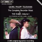 Telemann: The Complete Recorder Music, Vol. 1 -  The Duets