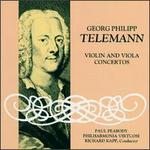 Telemann: Violin and Viola Concertos