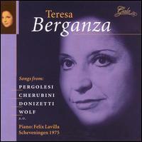 Teresa Berganza - Felix Lavilla (piano); Teresa Berganza (mezzo-soprano)