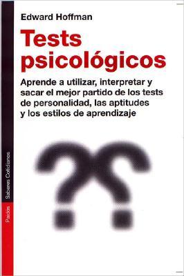 Test Psicologicos - Hoffman, Edward, Dr.