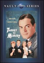 Thanks for the Memory - Dave Fleischer; George Archainbaud
