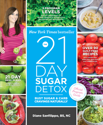 The 21-Day Sugar Detox: Bust Sugar & Carb Cravings Naturally - Sanfilippo, Diane, Bs