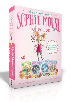 The Adventures of Sophie Mouse Collection: A New Friend; The Emerald Berries; Forget-Me-Not Lake; Looking for Winston - Green, Poppy