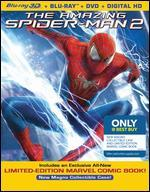 The Amazing Spider-Man 2 [3D] [Blu-ray/DVD] [Only @ Best Buy] [Comic Book]