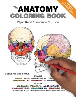 The Anatomy Coloring Book - Kapit, Wynn, and Elson, Lawrence M, PH.D.