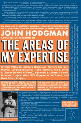 The Areas of My Expertise - Hodgman, John