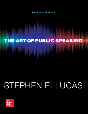 The Art of Public Speaking with Connect Access Card - Lucas, Stephen E