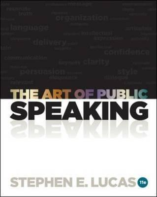 The Art of Public Speaking - Lucas, Stephen