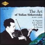 The Art of Yulian Sitkovetsky, Vol. 4