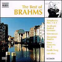 The Best of Brahms - BRTN Philharmonic Orchestra; Idil Biret (piano); Péter Nagy (piano); Stuttgart Soloists; Takako Nishizaki (violin)