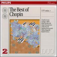 The Best of Chopin - Adam Harasiewicz (piano); Bella Davidovich (piano); Claudio Arrau (piano); György Cziffra (piano); Nikita Magaloff (piano);...