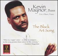 The Black Art Song - Eric Olsens (piano); Kevin Maynor (bass); Kevin Maynor (bass)