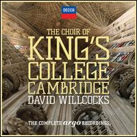 The Choir of King's College Cambridge: The Complete Argo Recordings - Alec Vidler (speech/speaker/speaking part); Andrew Davis (organ); Christopher Keyte (speech/speaker/speaking part);...