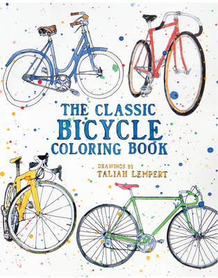 The Classic Bicycle Coloring Book -