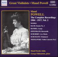 The Complete Recordings 1904-17, Vol. 2 - Arthur Loesser (piano); Francis J. Lapitino (harp); George Falkenstein (piano); Maud Powell (violin);...