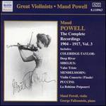 The Complete Recordings 1904-17, Vol. 3