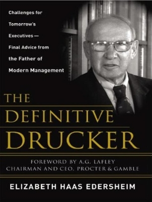 The Definitive Drucker - Edersheim, Elizabeth Haas