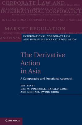 The Derivative Action in Asia: A Comparative and Functional Approach - Puchniak, Dan W, Dr. (Editor), and Baum, Harald (Editor), and Ewing-Chow, Michael, Dr. (Editor)