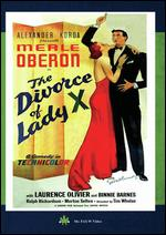 The Divorce of Lady X - Tim Whelan, Sr.