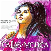 The Final Production of Medea - Giulietta Simionato (vocals); Jon Vickers (vocals); Maria Callas (vocals); Nicolai Ghiaurov (vocals); Thomas Schippers (conductor)
