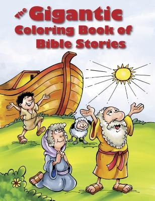 The Gigantic Coloring Book of Bible Stories - Tyndale (Creator)