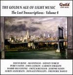 The Golden Age of Light Music: The Lost Transcriptions, Vol. 4 - Richard Hayman (harmonica); Stan Freeman (piano); Vincent Abato (saxophone)