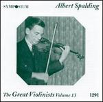 The Great Violinists, Vol. 13