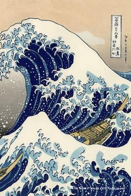 """The Great Wave Off Kanagawa: Katsushika Hokusai - """"6x 9"""" Lined Notebook-Work Book, Planner, Journal, Diary 100 Pages - Perfect Gift Notebook"""