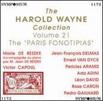 "The Harold Wayne Collection Volume 21: The ""Paris Fonotipias"""