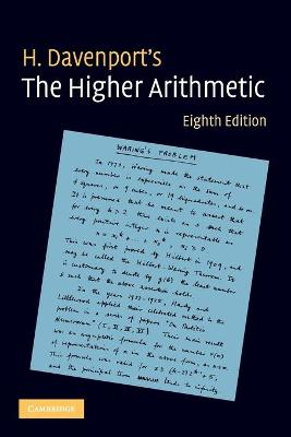 The Higher Arithmetic: An Introduction to the Theory of Numbers - Davenport, H