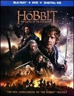 The Hobbit: The Battle of the Five Armies [2 Discs] [Includes Digital Copy] [UltraViolet] [Blu-ray/DVD] - Peter Jackson